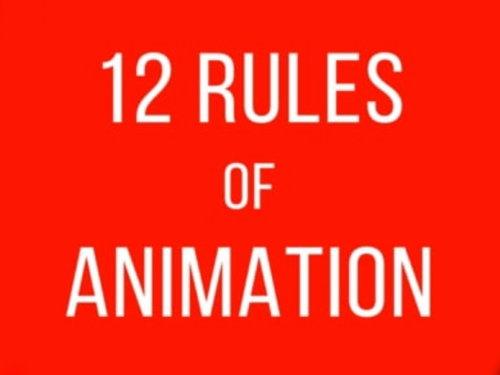 rules of animation