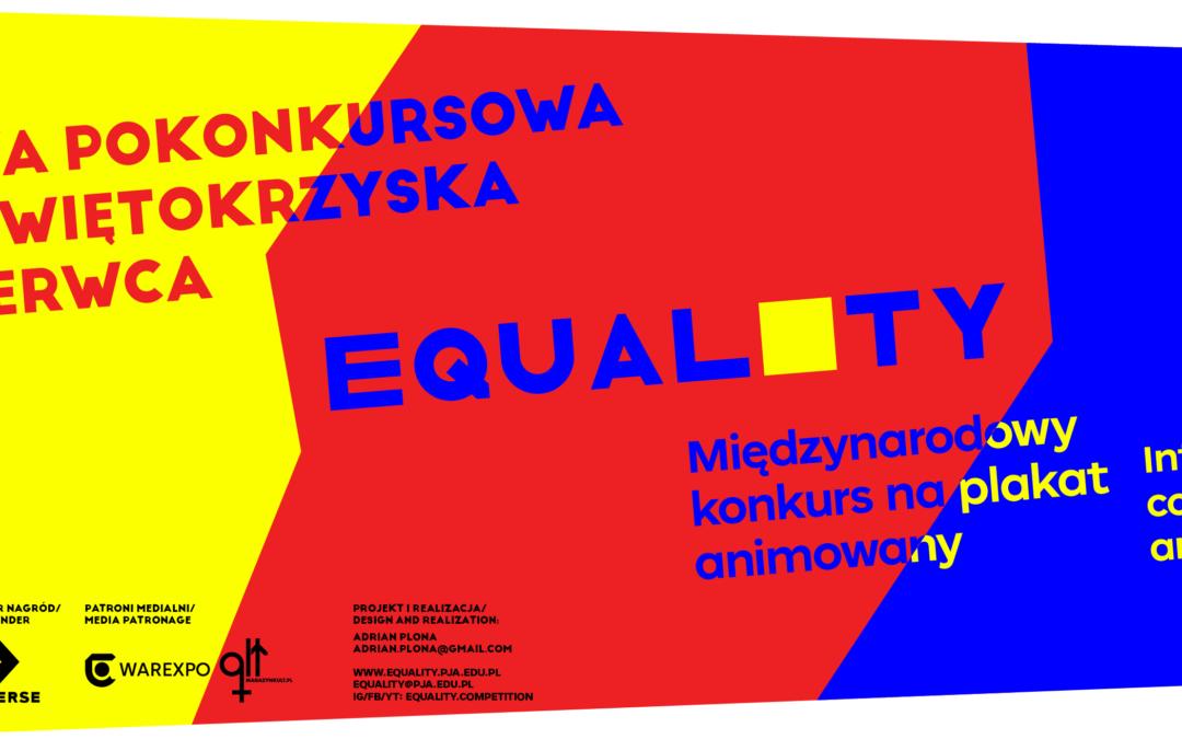 Międzynarodowy projekt EQUALITY   RÓWNOŚĆ //International project EQUALITY   RÓWNOŚĆ